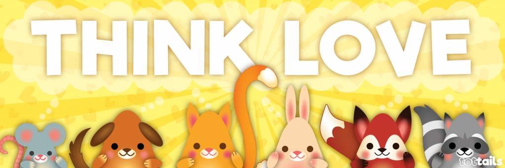 Think LOVE banner